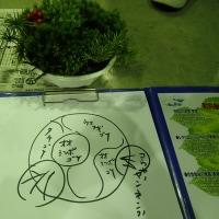 環境フエア:コケ盆栽の作品