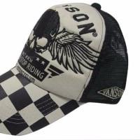 vanson バンソン キャップ CAP ウィング スカル 刺繍 NVCP-702
