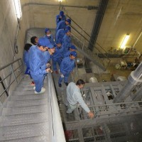 深層水施設の見学2