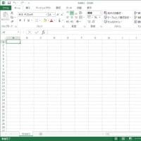 Excelの白い画面構成を変えられた