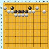 囲碁死活867官子譜