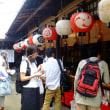 祇園祭宵山の山鉾めぐり(21日)