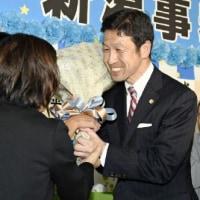 新潟県知事に再稼働反対派の米山隆一氏
