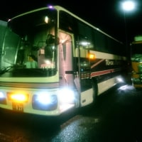 花婿は夜バスに乗って東京へ