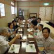 はがき絵  7月23日 福岡タワー 24日 西佐与公民館 西佐与公民館2  食事会 伝伝(でんでん)