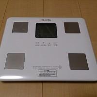新しい体重計