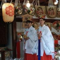 茨木神社のえびすさん