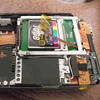 CFによるVAIO TypeU (UX50)のSSD化(4)・・・16GB CFに換装。
