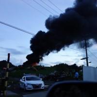 ゴミステバの火事
