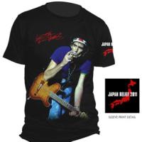 キースリチャーズが地震支援Tシャツを販売開始
