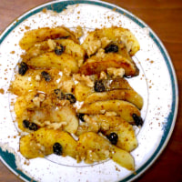 りんごのココナッツオイル焼き