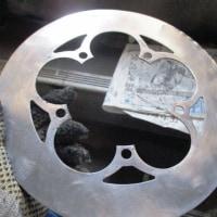 ピクニカ改ー2 チェーンリング・バッシュガード・クランクの鏡面仕上げ完成