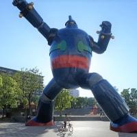 神戸市JR新長田駅前 鉄人28号
