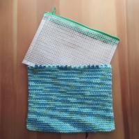 連休は100均で編み編み〜