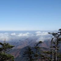 雪が積もる前に金峰山