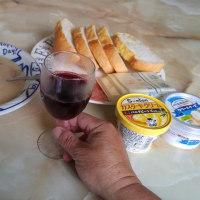 今宵はチリ産の激安ワイン&生ハムディナー!!@自宅