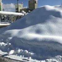 🗻毎年恒例の雪山が出現!!🗻