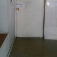 倉敷市船穂の工場さんで鉄の扉の塗装工事