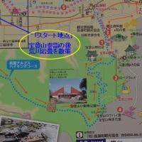 埼玉県「長瀞アルプス(宝登山)」を登る