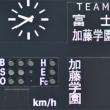 富士高校(3点)×加藤学園(7)