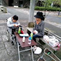 老いて お墓掃除 家庭の事ばっかして 過ごして・・・。.:♪*:・'(*⌒―⌒*)))