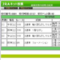 3月11日 土曜日のメインレース+α