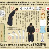 日本の作法