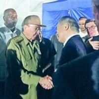 カストロ前議長に率いられたキューバ革命と、非同盟運動や中南米諸国の団結に尽力した業績を高く評価
