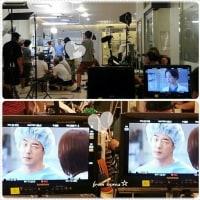 クォン・サンウ チュ・ジフン『メディカル・トップチーム』撮影現場~「皆さんほんとうに苦労が多いです!」