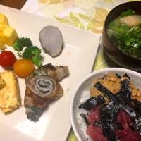 朝ごはん 06/26 テストの日の食事