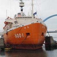楽描き水彩画「スケッチ会で名古屋港水族館や南極観測船『ふじ』へ」
