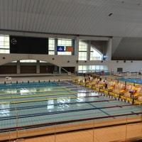 静商水泳部の応援