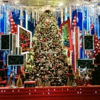高島屋のクリスマスデコレーション