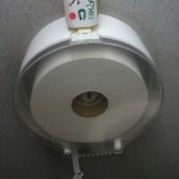 東京競馬場のトイレットペーパー