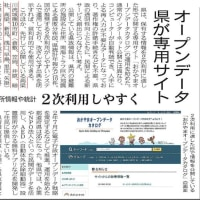 岡山県のオープンデータ