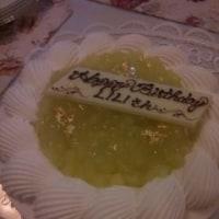シャンソン歌手リリ・レイLILI LEY  シャンソン家族から 誕生日ギフト