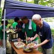 棚田ボランティア【草刈り、サツマイモ畑の草刈り】