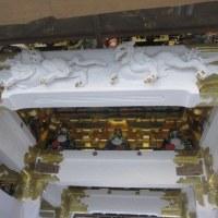 修理中の陽明門