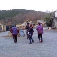 SC(豊能町老人クラブ)高山へ12.9金