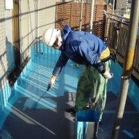 オーナー様の専用ルーフバルコニーなので防水改修工事は快適仕様にしました