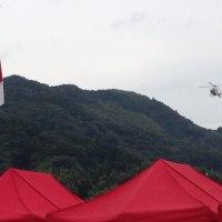 今日はヘリポート祭りに行って来ました
