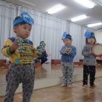 しろ 1歳児 舞台練習・戸外遊び