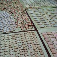 朗読のクッキー作り
