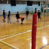 1月16日 山北高校小中学生練習会