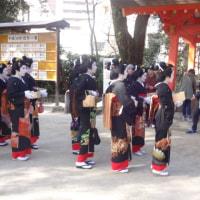まずは、住吉神社