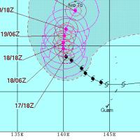 10月17日 台風25号はしつこいようで・・・。←サイパン・メイダイブ1968発信♪