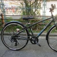 小粋な都会風ジュニア用クロスバイク「シュライン24」・・・