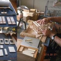 木工を楽しむ 古民家模型作り-庄屋さんの母屋作り-2