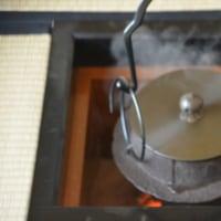 茶飯釜でご飯を炊いてみました。