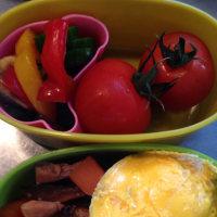 夏野菜と乾物料理のお弁当